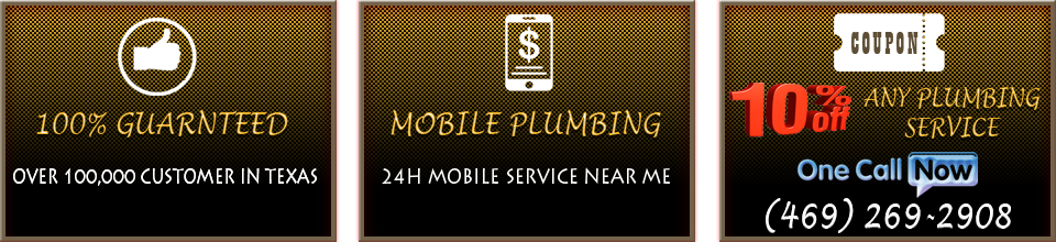 discount for plumbers grapevine customers